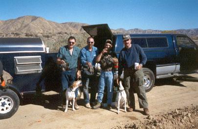Κυνήγι στην έρημο μοχάβε σε άγρια
